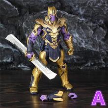 """Vingadores Marvel 4 Endgame 8 """"20 centímetros Action Figure Legends Infinity Gauntlet Thanos 2019 Filme Original ZD Brinquedos Boneca colecionáveis(China)"""