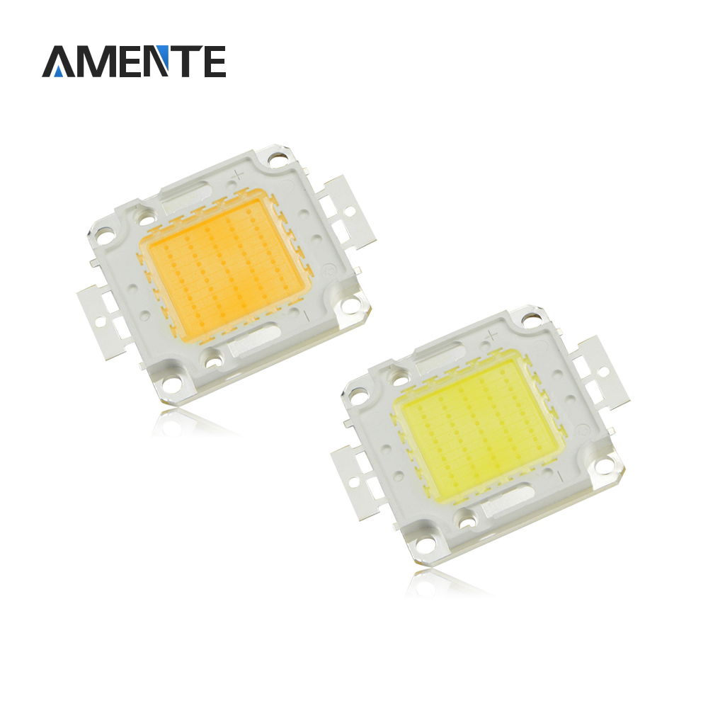 High Power COB Integrated LED Chip 10W 20W 30W 50W 100W Cold White / Warm LED lamp DIY LED Spotlight Bulb Floodlight(China (Mainland))