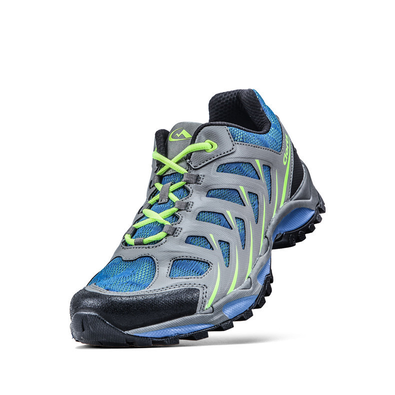 Clorts Men Trail Running Shoes Breathable Athletic Shoes PU Mesh Man Sports Trail Runner Shoes 3F021A/B