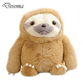 Cute Sloth Baby Doll Plush Toys Anime Zootopia Sloth Flash Stuffed Animals Plush Dolls Soft Stuffed