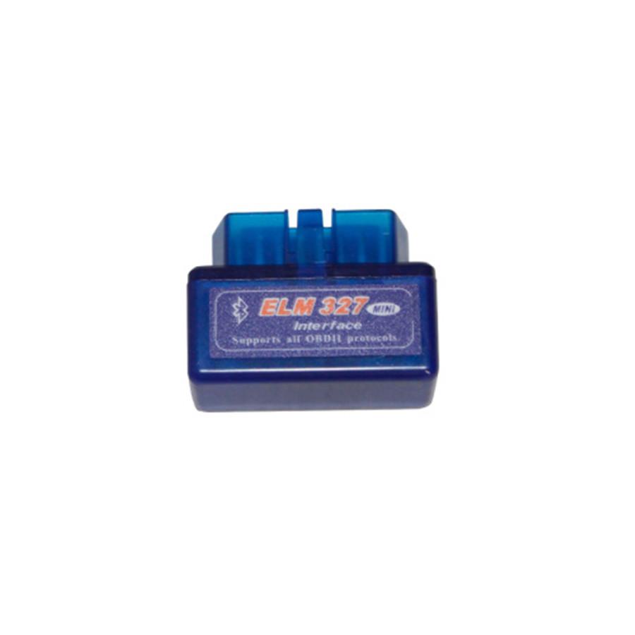 10pcs lot MINI ELM327 ELM 327 Bluetooth OBD2 Code Scanner Hardware V1.5 Software V2.1 Post Free Shipping<br>