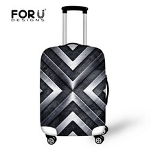 Fashion Men Travel Trollet Case Luggage Protective Covers Elastic Carry on Road Dust Rain Cover Apply To 18-30 Inch Suitcases