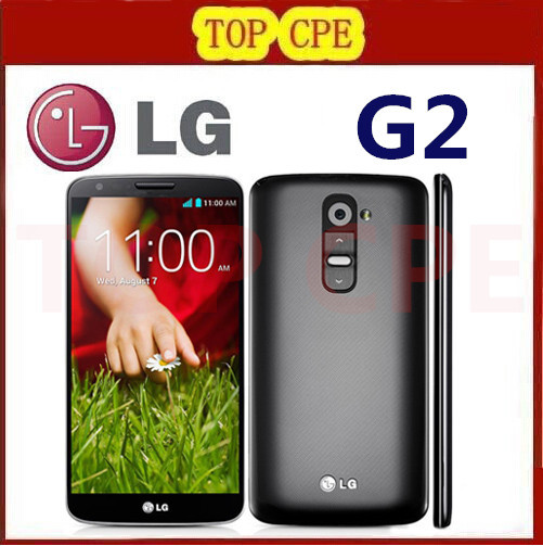 Original LG G2 F320 D802 D800 LS980 32GB phone 13MP camera Quad-core 5.2'' screen wife Bluetooth with one year warranty(China (Mainland))