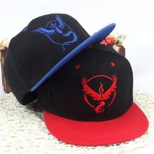 2016 Hot Pokemon Go pet elf hip-hop baseball cap hat men women luxury design - ororvv store