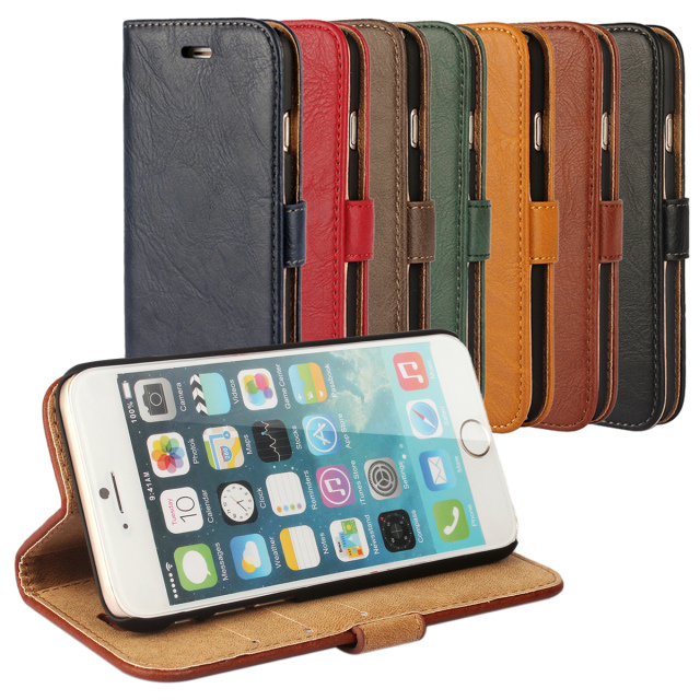 For iphone5/5S 5G Oil patterns flip leather wallet case cell phone protective cover(China (Mainland))
