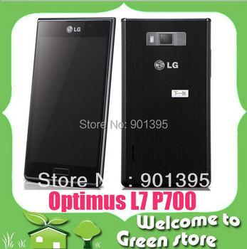 "Original LG Optimus L7 P700 P705 mobile phone 4.3"" Capcitive Screen 4 GB storage  Android 4.0 phone free shipping"