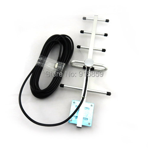 Direct Marketing 5Units 9dBi 824-960MHz Yagi Antenna 900MHz Yagi Antenna For GSM booster repeater(China (Mainland))