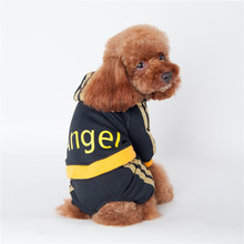 Buy Pet Dog Clothes Small Dogs Angel Printed Cotton Winter Dog Coat Jackets Costume Sweatshirts Hoodie Puppy Clothing Apparel for $4.96 in AliExpress store