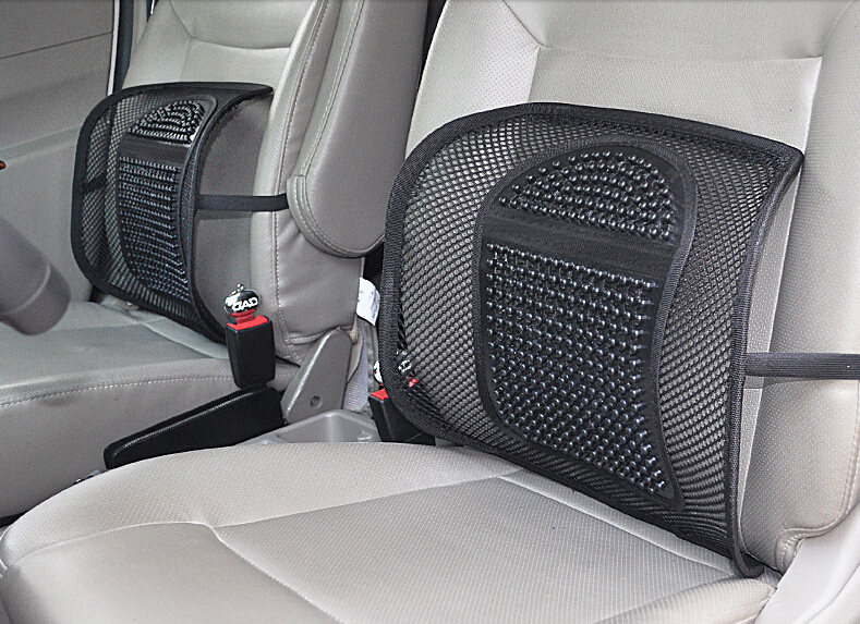 2015 new cars a waist by summer ice screen eye breathable waist by massage waist cushion cushion for leaning on of back office(China (Mainland))