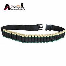 "Buy 52"" 25 Round Shotgun Shell Ammo Belt Nylon Sling Bandolier.410 12 20 24 Gauge Tactical Hunting Shotgun Cartridge Belt for $4.18 in AliExpress store"
