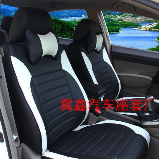 k2/k3 jettas lavida polo peugeot 308/408/2008/4008/3008/301/206 leather car seat cover bora covers supports sportage cerato golf(China (Mainland))
