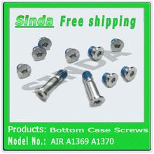 210PCS/lot = 21set/lot (10pcs/set) 100% Brand NEW Laptop Screws Fits Macbook Air A1369 A1466 A1370 A1465 Bottom Case Screws