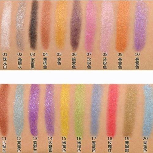 Mulheres Sexy Brilho À Prova D' Água Delineador Lip Liner Lápis de Olho Sombra de Maquiagem Ferramenta
