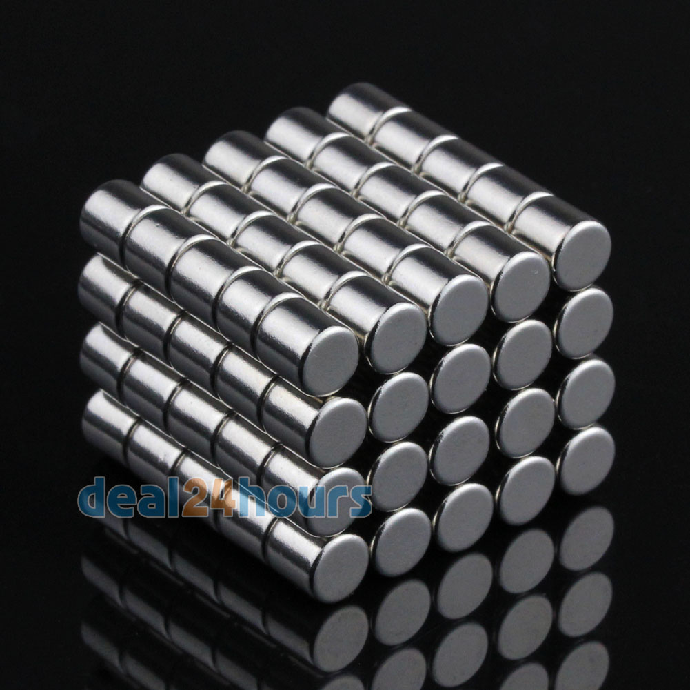 100pcs N50 Super Strong Round Disc Cylinder Magnets Rare Earth Neodymium 6mm x 6mm Free Shipping<br><br>Aliexpress