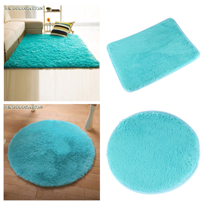 8 Kinds Of Options 40*60CM Square Carpet And 40CM Round Carpet Anti-Skid Area Rug Dining Room Carpet Home Bedroom Floor Mat(China (Mainland))