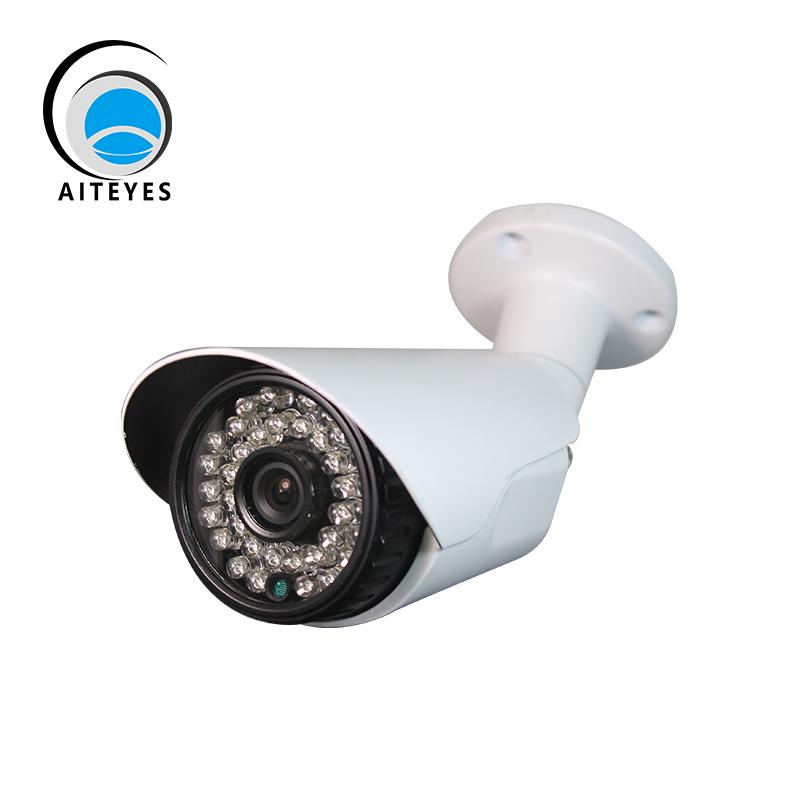 AIteyes Brand AHD Camera With IR-Cut BNC Connection White 720P 920P CCTV Bullet Camera Night Vision Surveillance Camera(China (Mainland))