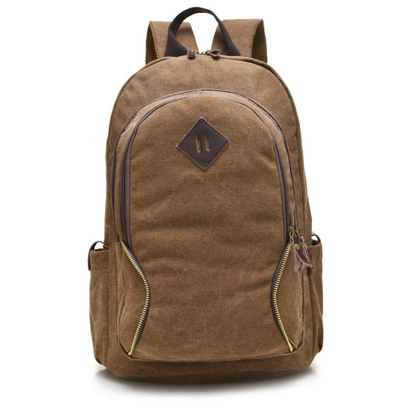 Brand Style School Bag Canvas Women Men Travel Bag Backpack New Style Casual Large Capacity