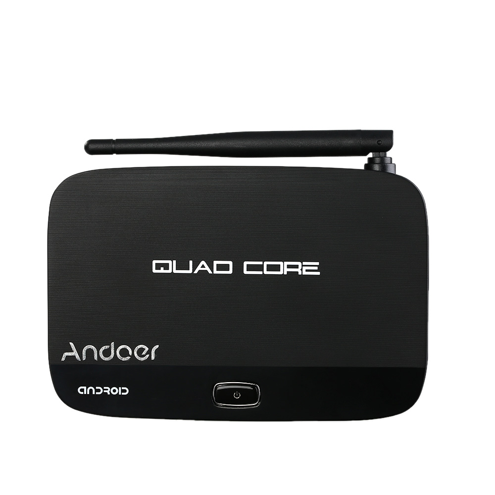 Andoer F7 Android 4.4 TV Box RK3128 Quad-Core 1G/8G 1080P H.265 Mini PC 3D Kodi XBMC Miracast DLNA WiFi LAN Smart Media Player(China (Mainland))