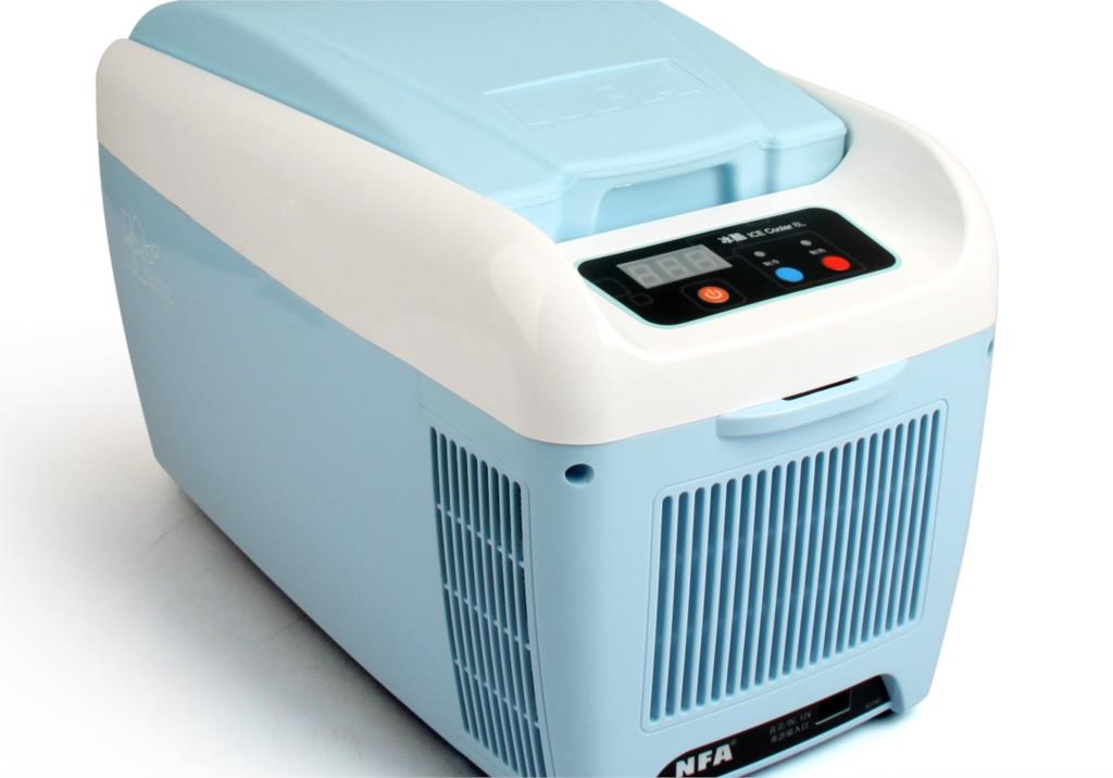 Compact Heating And Cooling Units : Car refrigerator freezer l home dual heating and