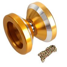 High performance YOYO Magic Yo-yo N8s Dare to do String Trick Gold Aluminum toy  FCI#(China (Mainland))