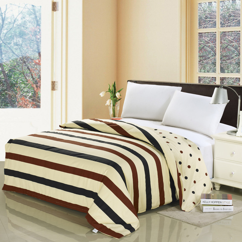 cotton duvet cover twin queen king super king size bed. Black Bedroom Furniture Sets. Home Design Ideas