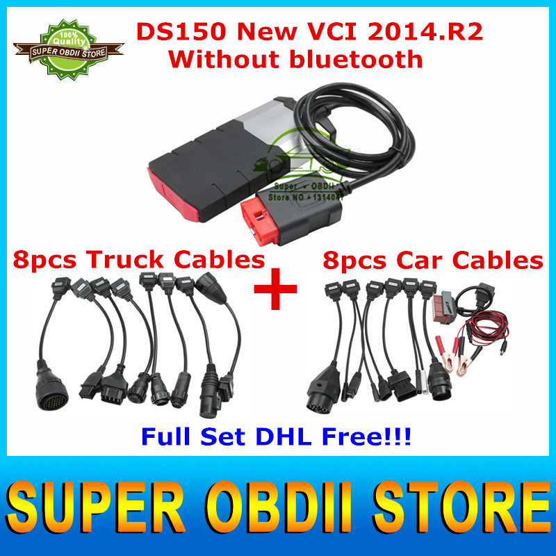 2015 High Quality Best Price Car Truck Diagnostic Tool DS150 Tcs CDP Pro Plus 2014. R2 Free Actived DS150E Without Bluetooth(China (Mainland))