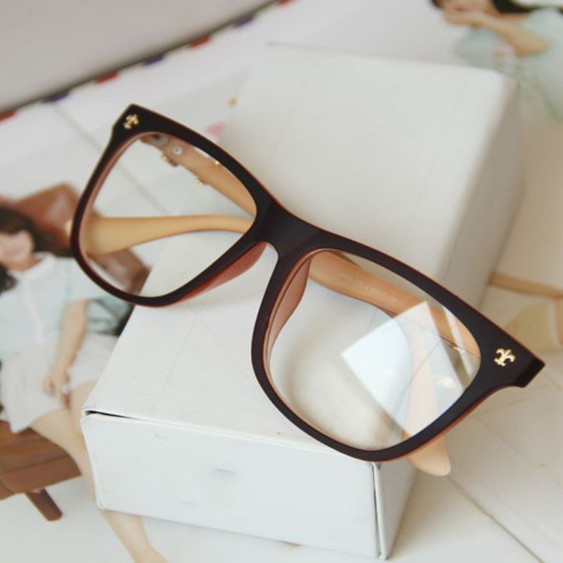Reading Glasses No Frame : Vintage-eyeglasses-frame-Reading-Glasses-metal-glasses ...