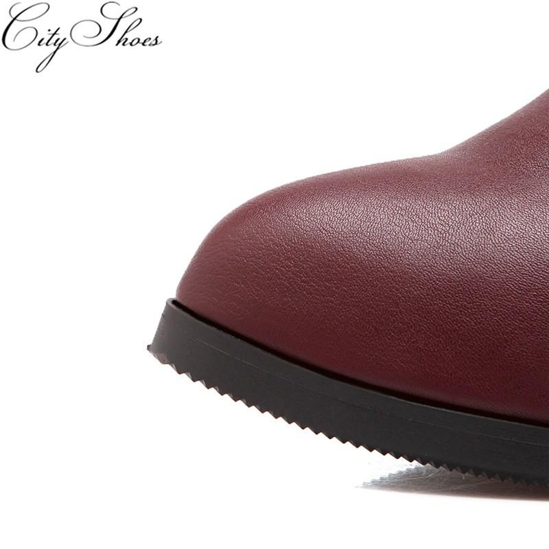 2016 sonbahar Kış kadın diz yüksek sürme çizmeler Yüksek topuklu uyluk yüksek boot Kadın sivri burun Siyah kırmızı beyaz ayakkabı büyük boy 5-13