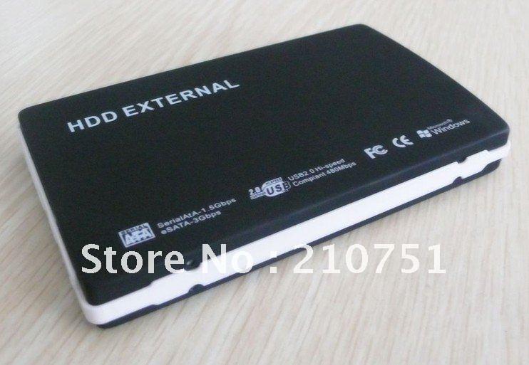 """Free Shipping USB2.0 2.5"""" SATA/IDE HDD Case Hard Disk driver External Enclosure(China (Mainland))"""