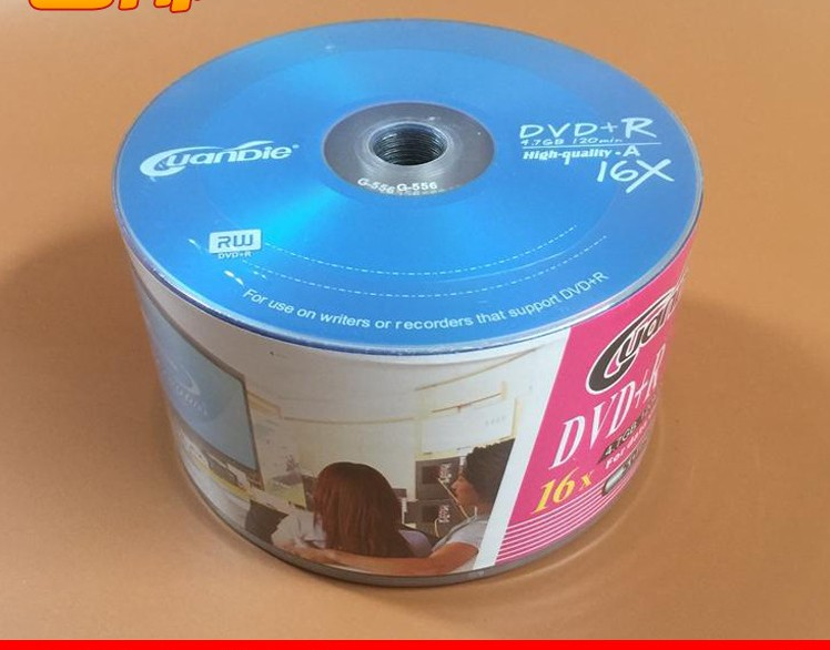 Wholesale 10 discs A+ UPL Blue 16x 4.7 Blank DVD+R(China (Mainland))