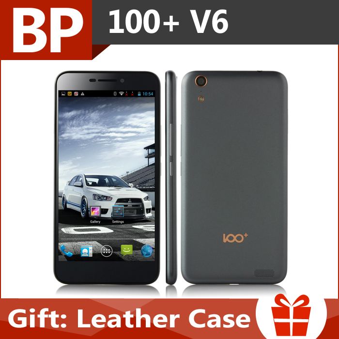 In Stock Original 100+ V6 5.5 inch FHD MTK6592 T Octa Core 2.0 Ghz 3G Mobile Cell Phone 2GB RAM 32GB ROM 13MP CAM Kolina k100(China (Mainland))