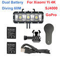 Original Xiaomi Yi 4K 1400Mah 2 Pcs Battery + Xiao Yi 2 Dual Battery Charger For Sport Yi 4K Action Camera Accessories