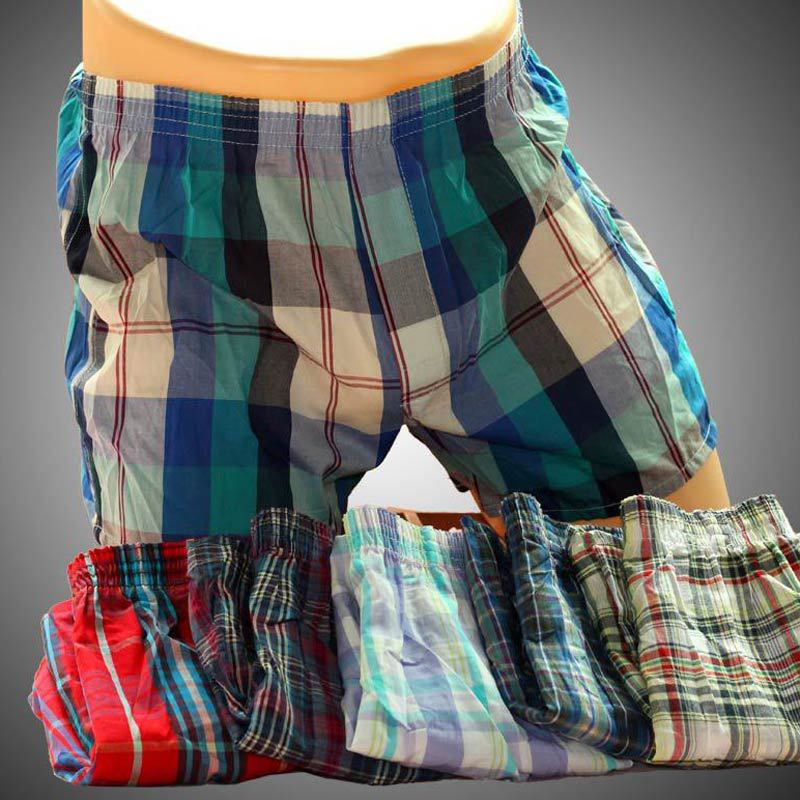 5pcs/Lot High Quality Sexy Mens Underwear Boxers Cotton Calzoncillos Hombre Cueca Boxer Men Boxer Shorts Male Trunks 2016 Brand(China (Mainland))