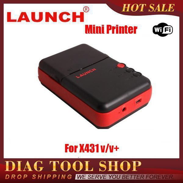 2015 Newest Original X431 V Mini Printer For Launch X-431 V+ plus mini Printer Box Record work with wifi DHL Free Shipping(China (Mainland))
