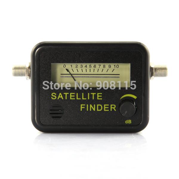 SATELLITE FINDER SIGNAL METER FOR SAT DISH LNB DIRECT cable TV Satellite Finder(China (Mainland))