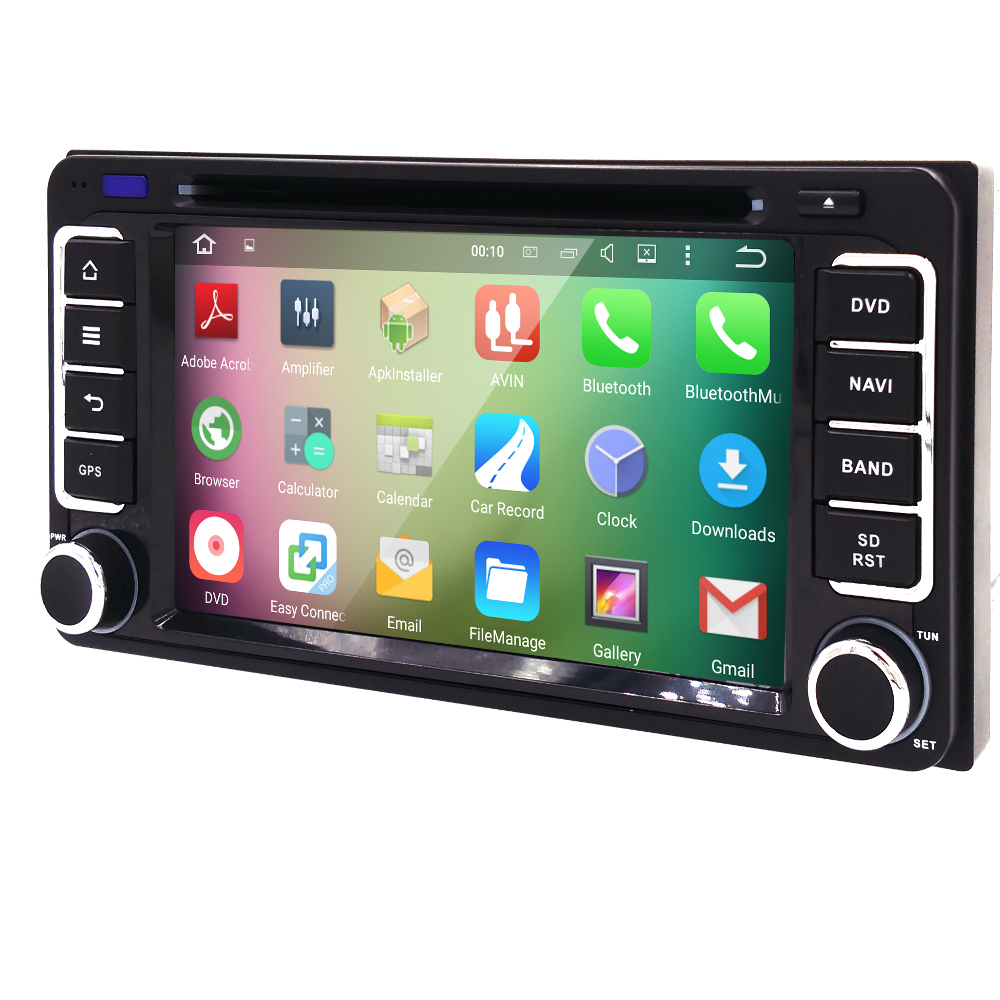 Android 5.1 car dvd gps for toyota Universal car dvd player alphard hilus fortuner innoval old camry corolla vios RAV4 PRADO(China (Mainland))