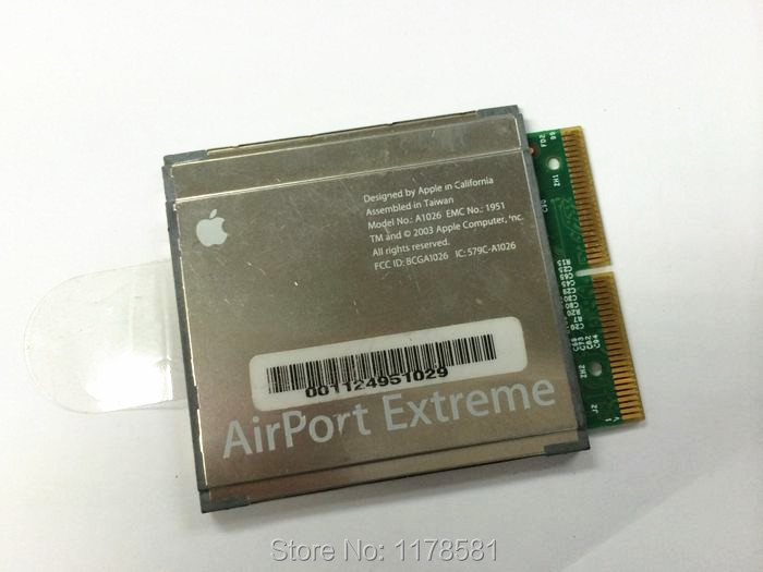 AirPort Extreme WiFi Card A1026 A1027 for APPLE iBook iMac PowerMac PowerBook G4(China (Mainland))