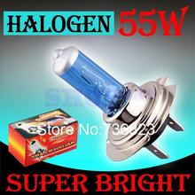 10pcs H7 55W 12V Halogen Bulb Super Xenon White Fog Lights High Power Car Headlight Lamp Car Light Source parking auto 030(China (Mainland))