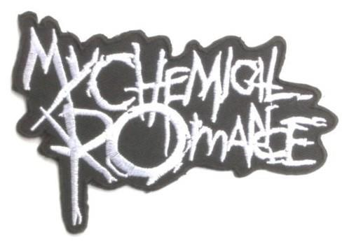 MY CHEMICAL ROMANCE Logo Music Band Embroidered NEW IRON ON and SEW ON Cool Rock Punk Badge Custom design patch available(China (Mainland))