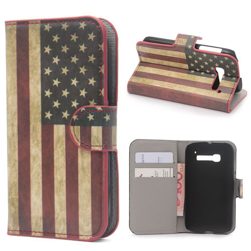 luxury Flip stand bag wallet mobile phone bag protector screen For Alcatel one Touch POP C5 cell phone cases Skin cover(China (Mainland))