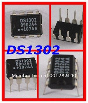 NEW DS1302 DIP-8 Dallas Maxim 3-Wire Real-Time Clock  High quality free shipp 100PCS