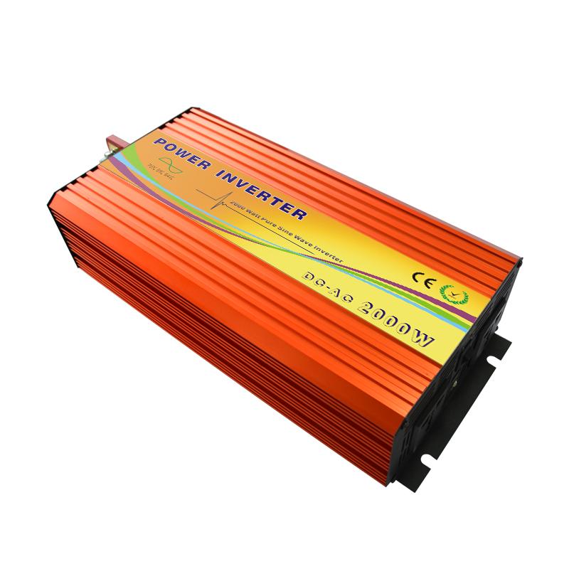 48V conversion 220V2KW Solar Inverter pure sine wave power inverter foot household fridge air conditioning(China (Mainland))