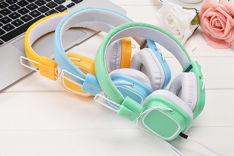 3.5mm Wired Headphone headphones Gaming Headset Earphone For PC Laptop Computer Mobile Phone JKR112