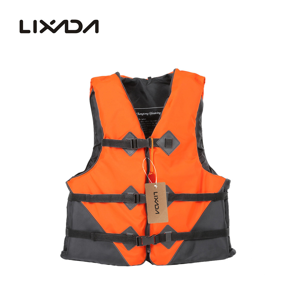 2016 Newest Adult Life Vest for Water Sports Swimming Drifting Fishing Safety Vest with Emergency Whistle Professional Lixada(China (Mainland))
