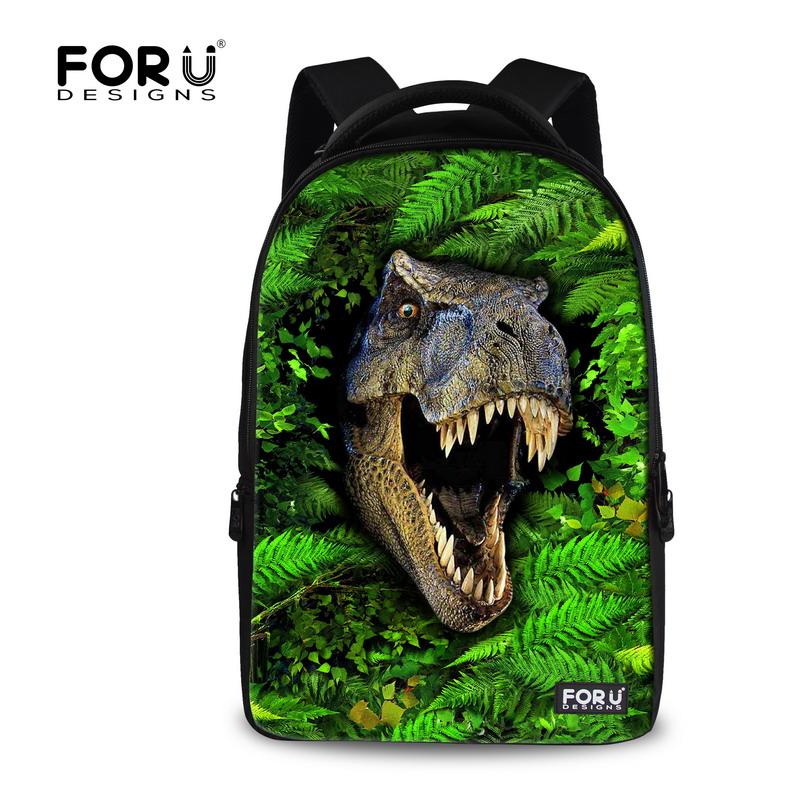 Fashion 3D Animals Backpack Children Dinosaur Backpacks,Cool 17 inch Mens Travel Laptop Backpack Teenager Boys School Bag<br><br>Aliexpress