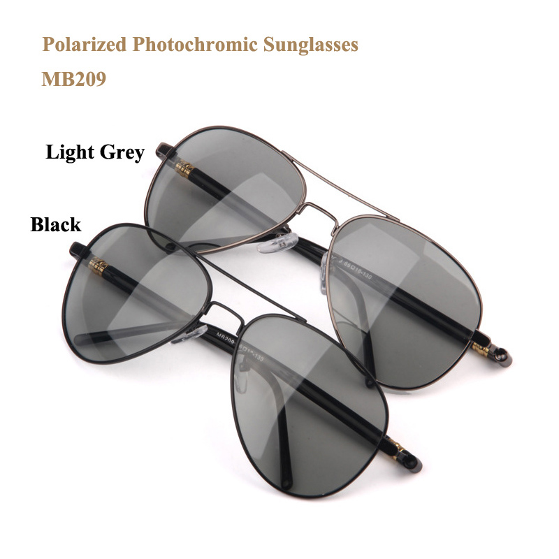 Photochromic polarized sun glasses women men brand designer 2016 driving sport hiking sunglasses with spring hinge gafas de sol(China (Mainland))