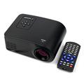 New Full HD 1080P 80 Lumens Portable Proyector Mini LED Projector HDMI AV VGA SD USB