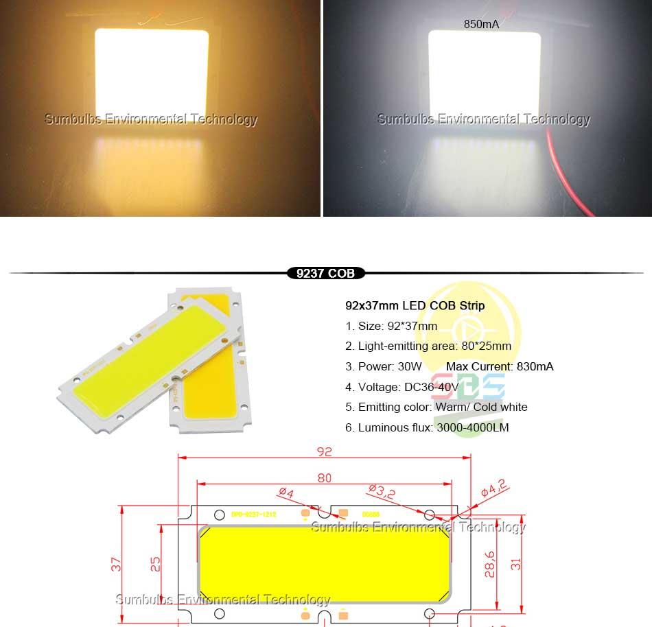 DC Bulb 1W 5W 10W 20W 50W COB LED Strip Lamp Light Blue Red White Lighting Source for DIY LED Matrix Chip On Board Bar Lights (6)