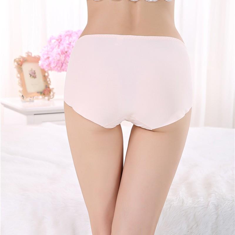Underwear Women Sexy Panties Seamless Briefs Ultra-thin Calcinha Pantie Plus Size Trimming bragas ropa interior mujer lingerie