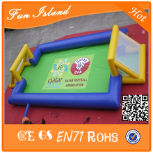Cheap price ! Portable inflatable soccer field,inflatable football court,inflatable football field(China (Mainland))